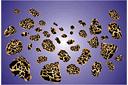 Метеориты (трафарет, малая картинка)