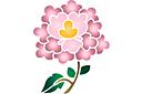 Китайский цветок 5
