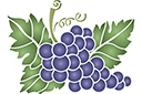 Виноградная гроздь 4