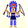 Трафареты индейцев