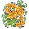 Трафареты петриковской росписи