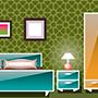 Пример декора стены трафаретом - Марокканская спальня