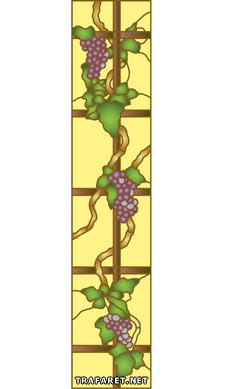 Лоза на решетке