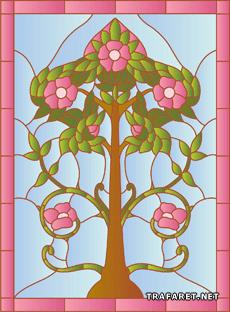 Дерево модерн