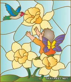 Эльф и колибри