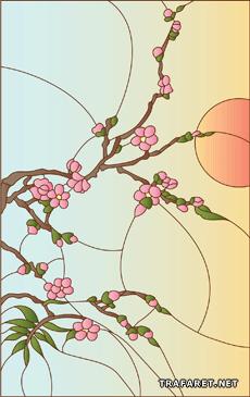 Сакура и солнце