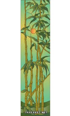 Пейзаж с бамбуком