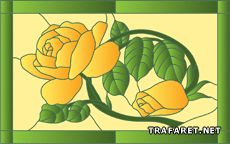 Две желтых розы