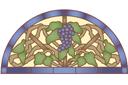Полукруглый виноград