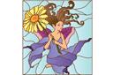 Фея с цветком